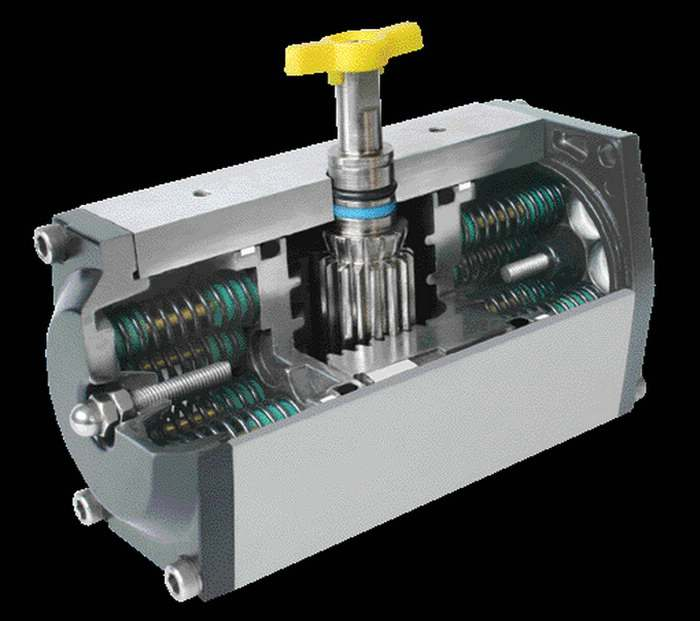 stainless steel body Pneumatic Actuator